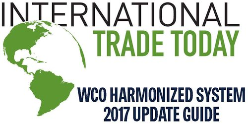 WCO Harmonized System 2017 Update Guide